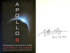 Jeffrey Kluger~PERSONALLY SIGNED & DATED~Apollo 8~1st/1st HC - Apollo 13 Author