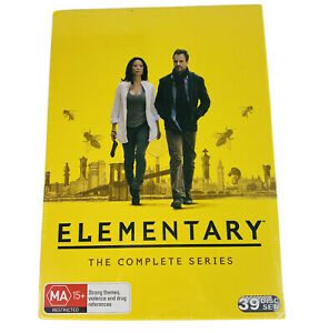 Elementary The Complete Series Box Set DVD Region 4 NEW