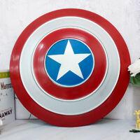 "18.7"" Metal Captain America Shield Wall Hanging Decor Bar Cosplay Avengers Props"