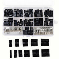 620pcs Dupont Wire Jumper Pin Header Connector Housing Kit and M/F Crimp Pins BE