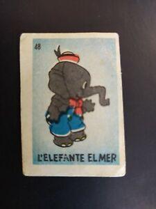 FIGURINA PARATA DISNEY n. 48 L'ELEFANTE ELMER OTTIMA RECUPERATA