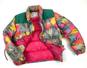 RARE Vintage Men's MONCLER GRENOBLE Multicolor Down Vest Jacket Gilet Size 2 S/M