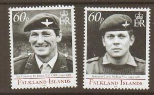FALKLAND ISLANDS SG1054/5 2006 VICTORIA CROSS MNH