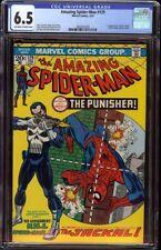 Amazing Spider-Man # 129 CGC 6.5 OW/W (Marvel,1974) 1st Punisher Looks 8.5+