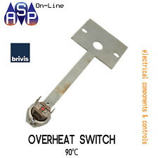 BRIVIS 90°C OVERHEAT SWITCH FOR DUCTED HEATERS - PART# B010744