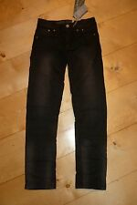 SO 17   Hose/ JEANS, raw black  SLIM  v. GARCIA    A73517  gr.140 -176