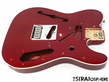 2017 Fender Deluxe Thinline Telecaster Tele BODY & HARDWARE Candy Apple Red