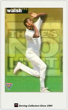 1995-96 Futera Cricket There is No Limit TNL30: Courtney Walsh (West Indies)