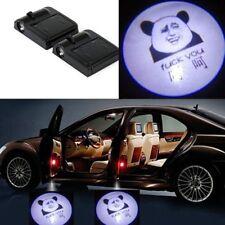 2Pcs LED Car Door Welcome Light Laser Car Door Shadow Projector Logo Wireless