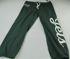 New York Jets NFL Team Apparel Women's Green Sweatpants