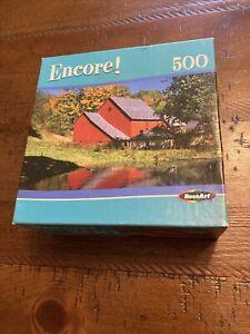 Rose Art Encore North Pomfret Vermont 500 Pieces