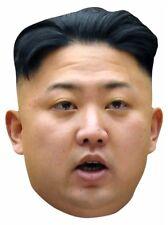Kim Jong-Un Supreme directeur de North Corée 2D carte fête masque visage