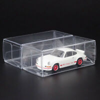 20x Plastic Container Display Clear Box Fit 1:64 Toy Vehicle Car Model Organizer