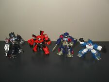 transformers robot heroes lot cliffjumper battle damage optimus prime mirage etc