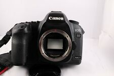 Canon EOS 5D Mark II 22.3MP Digital SLR Camera - Black (Body Only) W/Grip EXC.