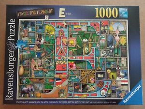 "Ravensburger 1000 Piece Jigsaw Puzzle ""Awesome Alphabet"" BRAND NEW SEALED"