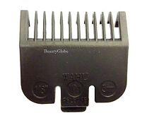 Wahl Clipper Attachment Comb Size 1 Black (3mm)