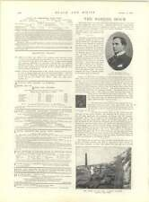1897 Latest Portrait Of The Queen Kent Colliery Disaster