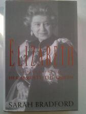 SARAH BRADFORD.QUEEN ELIZABETH.H/B D/J 1996 NEAR MINT