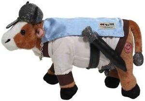"Cow Parade ""VI-KONG"" STOCKHOLM New PLUSH Cow MWMT #5809 Viking"