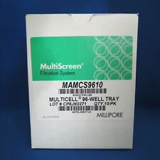 Millipore MultiScreen Multicell 96 Well CultureTrays MAMCS9610 Pk/10