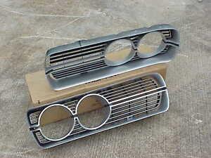 1972 Plymouth Fury NOS MoPar Radiator GRILLES PAIR Fury I II III Suburban