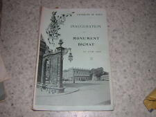 1909.inauguration du monument Ernest Bichat.Nancy lorraine Lunéville