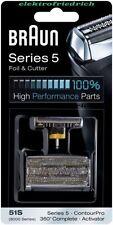 BRAUN Kombipack 51S  8000 Serie 5 NEU&OVP Scherblatt / Folie und Messerblock
