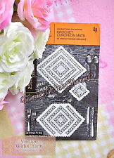 """Vintage Crochet Pattern Luncheon Mats """"Broderie Anglaise"""" Design FREE POSTAGE"""