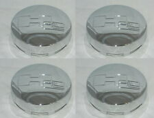 4 CAP DEAL HUMMER H2 LOGO 8 LUG REPLACEMENT CHROME CENTER CAPS SNAP IN 3181