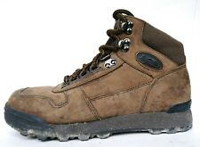 VASQUE Alpha Suede Leather Mid Hiking Boots Brown Women Sz 6 Trail Shoe Exc cond