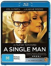 A SINGLE MAN BLU RAY - NEW & SEALED COLIN FIRTH, TOM FORD, JULIANNE MOORE