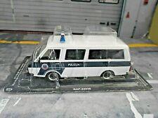 RAF 22038 Bus Van Latvija Rafik GAZ Policija Police Polizei IXO Atlas SP 1:43