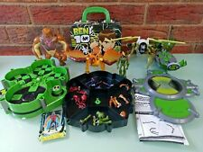 Ben 10 Alien Creation Chamber Action Figures Tin Case Toy Bundle Cartoon Network