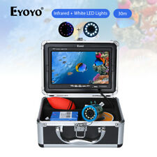 "EYOYO 30M Length Underwater Fishing Camera 1000TVL 7"" LCD Screen Fish Finder"
