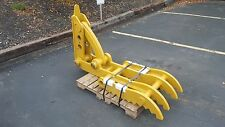 "New 24"" x 62"" Heavy Duty Mechanical Thumb for Backhoes"