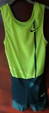 NWOT NIKE Pro Elite Singlet Speedsuit Skinsuit Track and Field Running Sz Small