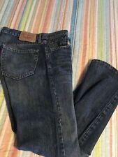 Levis 514 Mens 33 X 32 Jeans Slim Straight Factory Distressed Denim FREE US SHIP