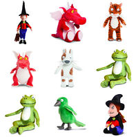Julia Donaldson Room on the Broom Soft Toy Plush Teddy Gift Cuddly Cat Dragon