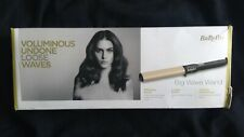 BNIB BaByliss 2386U Big Wave Wand with 38mm Ceramic Barrel and Adjustable Heat