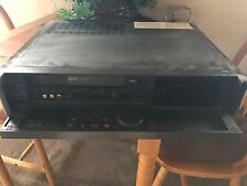 Sony (Model SLV-R5UC VCR Stereo Video Cassette Recorder VHS Tape Player + Remote