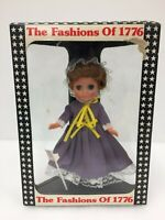"The Fashions of 1776 Patriotic Doll 8"" Collectors Collectible Sleeping Vintage"