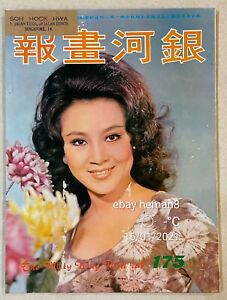 1972 汪萍 銀河畫報 175 Hong Kong Milky Way movie magazine Bruce Lee LINDA Ting Pei 茅瑛