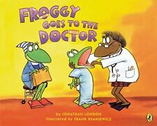 Froggy Goes to the Doctor-ExLibrary