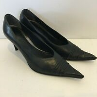 Solo Femme Made in Italy Black High Heel Shoes AU/US6 UK4 EUR37