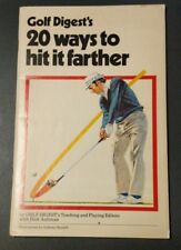 "1982 Golf Digest Anthony Ravielli Illustration ""20 ways to hit it farther"""