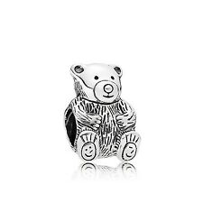 💎 New PANDORA Charm - Theo Teddy Bear & Pouch S925 ALE 790395