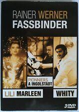 Rare Coffret Fassbinder 3 DVD : Lili Marleen / Pionniers à Ingolstadt / Whity
