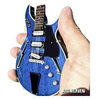 Bob Weir Grateful Dead Blue Lightning Bolt Modulus Mini Guitar Model Collectible