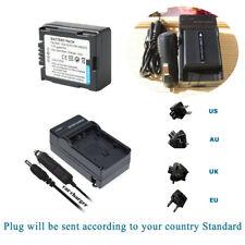 Battery +Charger for DU07 HITACHI DZ-GX5020A DZ-BP07PW DZ-HS500A DVD Camcorder